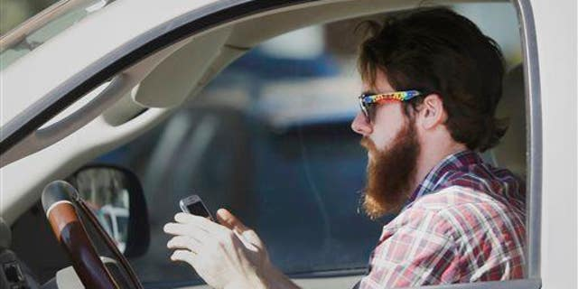 Texting 'wreaks havoc' on our ability to correct for mistakes while driving.