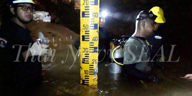 Eighteen divers entered the cave to rescue the 12 boys and their soccer coach on Sunday.