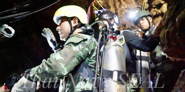 Chiang Rai acting Gov. Narongsak Osatanakorn, who is heading the rescue, had said the second phase began at 11 a.m. on Monday.