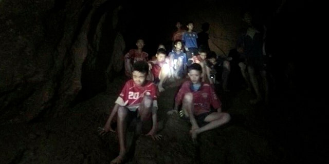The missing boys and their soccer coach were found in a dark, partially flooded cave, in Mae Sai, Chiang Rai, Thailand.