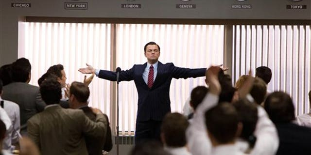 """Leonardo Di Caprio starred in the 2013 film """"The Wolf of Wall Street,"""" which was produced by Red Granite Pictures."""
