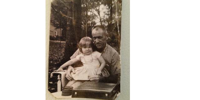 Sir John with a young Tina Alexis Allen.