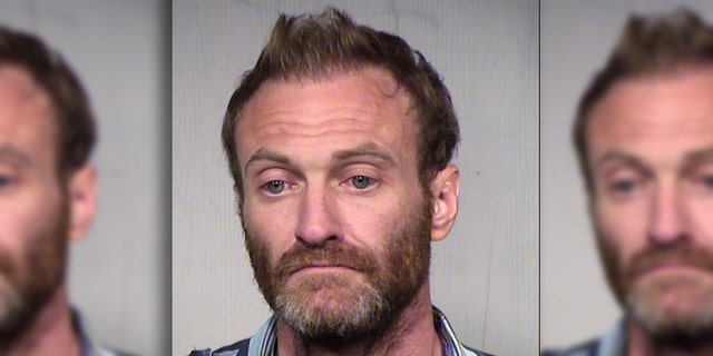 Mesa Police said that Todd Shell stole an ambulance because he said it was too hot to walk.
