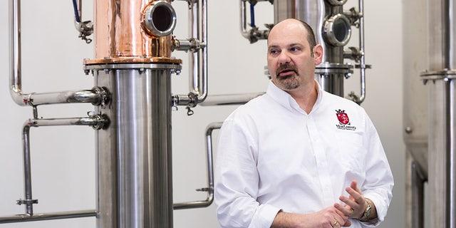 Tom Murray of MurLarkey Distillery in Bristow, Virginia.