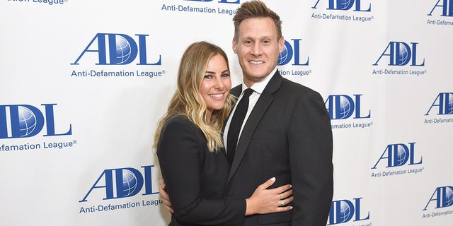 Meghan Markle's ex-husband, Trevor Engelson, is said to be engaged to health expert Tracey Kurland. Here, the couple attend the same event Engelson once attended with Markle.