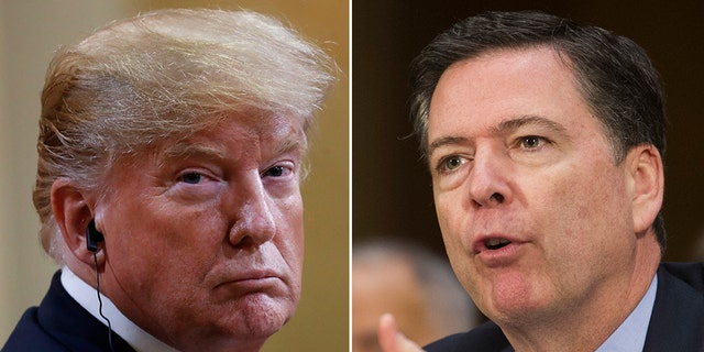 """Former FBI Director James Comey on Monday said """"patriots need to stand up"""" and reject President Trump's behavior after he seemingly accepted Russian President Vladimir Putin's denial that Russia didn't interfere in the 2016 election."""