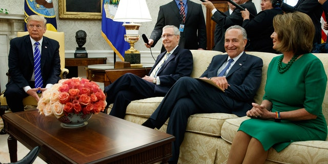 President Trump's dealings with Nancy Pelosi and Chuck Schumer are running into complications over his new DACA deal terms.