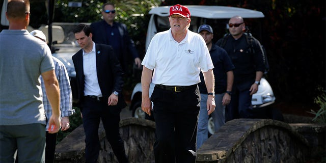 "Trump – who prefers golf and giving speeches for exercise but has a weakness for McDonalds hamburgers – once had a doctor release a statement claiming that if elected, ""Mr. Trump, I can state unequivocally, will be the healthiest individual ever elected to the presidency."""