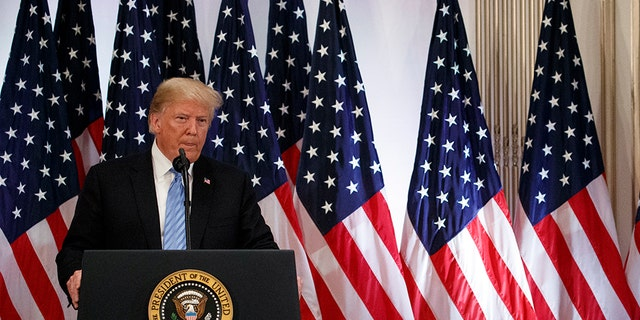 """CNN reporter Jim Acosta asked President Trump whether """"one of our female colleagues"""" could be called on after he questioned the president at a Wednesday press conference in New York City."""