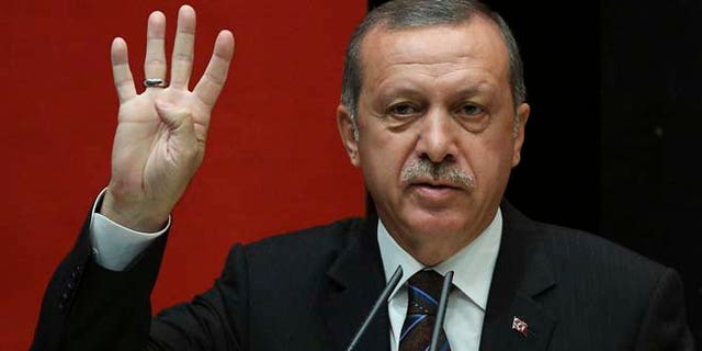 Turkish President Erdogan commands the region's most powerful army. (AP)