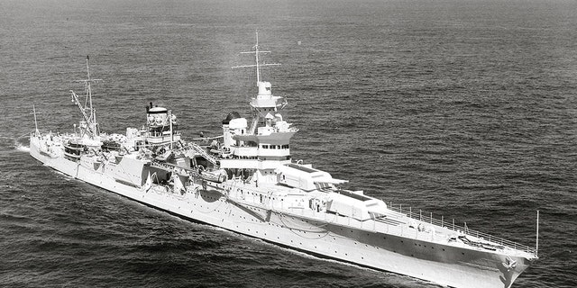 The USS Indianapolis in 1939.