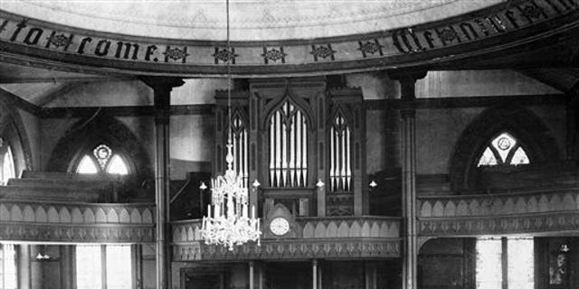 This undated photo from the U.S. Library of Congress shows the former Cathedral of St. John Episcopal Church in Providence, R.I.