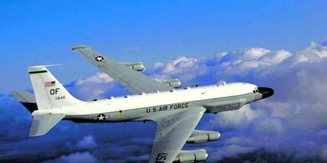 FILE: Undated: A RC-135 U.S. reconnaissance aircraft/ Air Force handout.