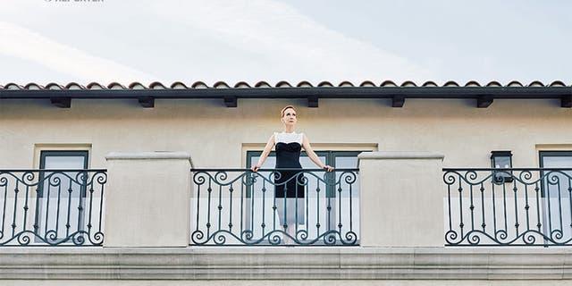 Kathy Griffin inside her Bel Air mansion.