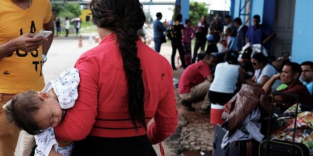Venezuelans fleeing extreme poverty