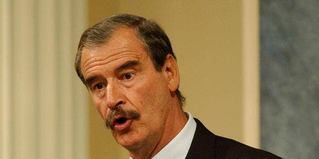 Former Mexican Vicente Fox (Associated Press)