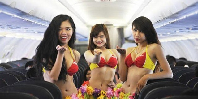 Vietjet has come under scrutiny previously for risque advertisement and making flight attendants wear bikinis.