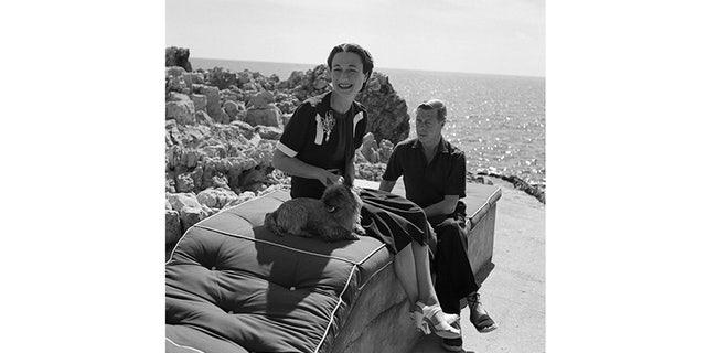 Wallis Simpson and Edward VIII.