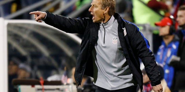 United States head coach Jurgen Klinsmann on Friday, Nov. 11, 2016, in Columbus, Ohio.
