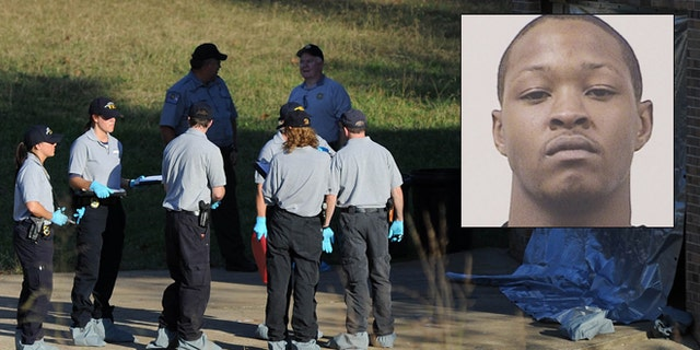 Undated photo shows Warren Vincent Crutcher, who was sought for questioning by Tennessee investigators in the slayings of three women and a toddler at two homes in southern Tennessee.
