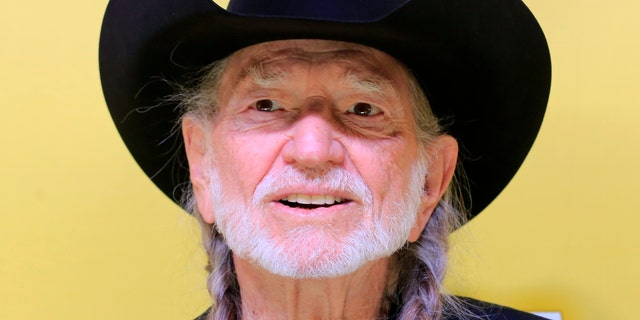 November 1, 2012. Singer Willie Nelson arrives at the 46th Country Music Association Awards in Nashville, Tennessee.