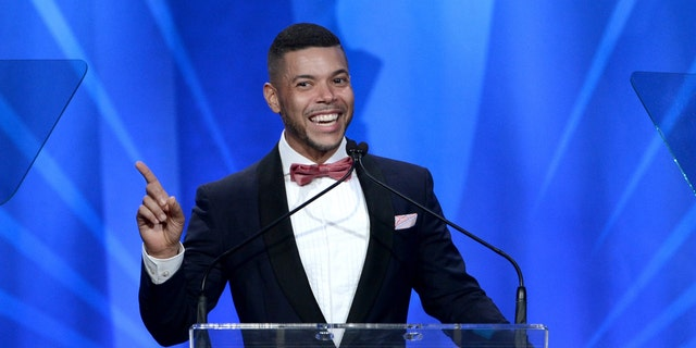 LOS ANGELES, CA - APRIL 20:  Actor Wilson Cruz speaks onstage during the  24th Annual GLAAD Media Awards  at JW Marriott Los Angeles at L.A. LIVE on April 20, 2013 in Los Angeles, California.  (Photo by Kevin Winter/Getty Images for GLAAD)