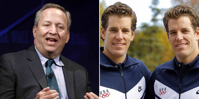 """Larry Summers recalls a conversation he had with the Winklevoss twins that was portrayed in """"The Social Network."""""""