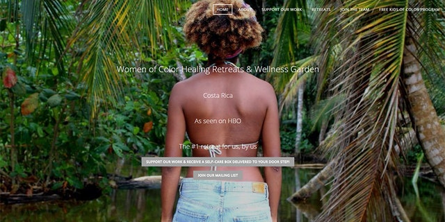 """The Women of Color Healing Retreat aims to disconnect visitors from the """"psychological trauma of systemic racism."""""""