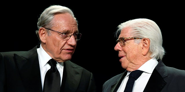 Journalism legends Bob Woodward and Carl Bernstein shared a Pulitzer Prize for reporting on Watergate.