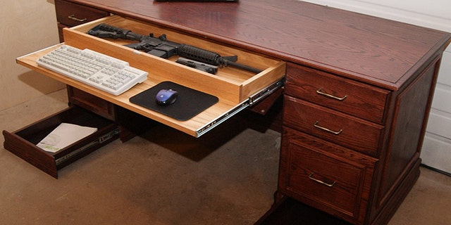 Furniture maker Dan Ingram says more people are looking for alternatives for storing firearms in the home.