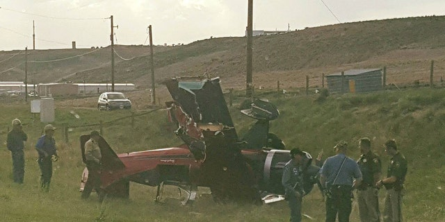 No one was injured in the accident, authorities say, though the aircraft was severely damaged in the crash.