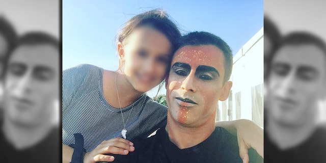 Yann Arnaud, a 15-year veteran performer with Cirque du Soleil seen here with his daughter, plunged to his death during a show in Tampa on Saturday.