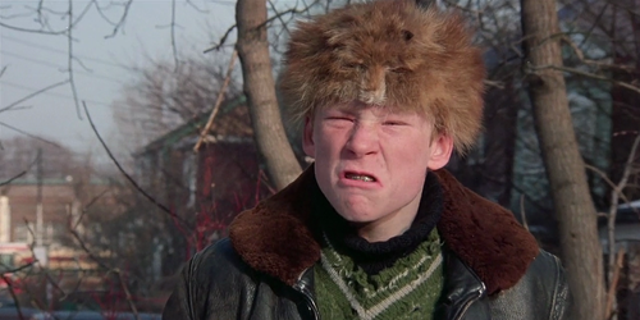 """Zach Ward in """"A Christmas Story."""""""