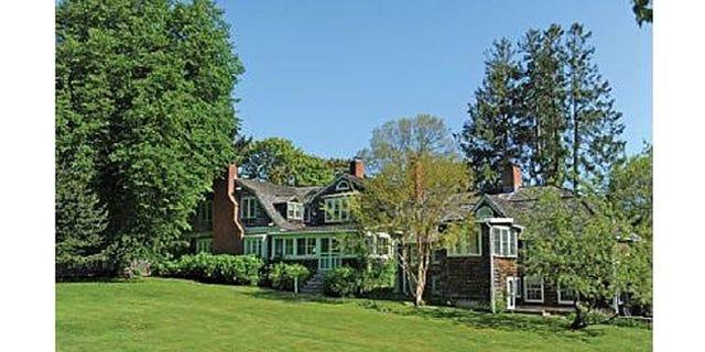 Designer Kate Spade's Hampton's home.
