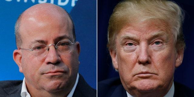 CNN president Jeff Zucker's network has been mocked by Trump on a regular basis.