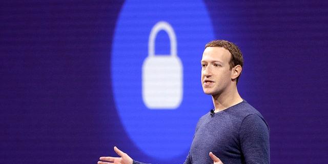 Facebook's Mark Zuckerberg.