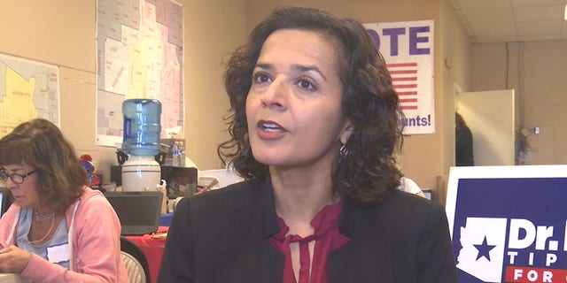 Democrat Hiral Tipirneni believes she has a real shot at flipping the seat.