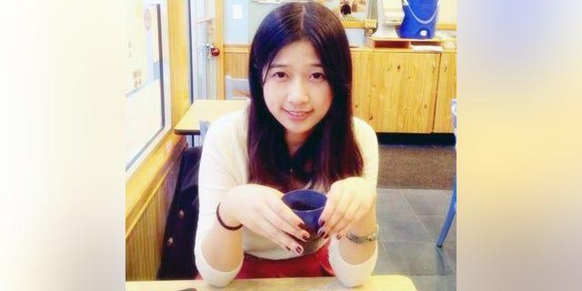 Undated photo provided by Meixu Lu shows Lingzi Lu in Boston.