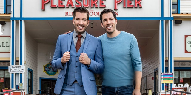 """""""Property Brothers"""" Drew and Jonathan Scott have seemingly never met a home renovation challenge they didn't like, as the 41-year-old twins admittedly have their sights set on flipping the California home made famous by """"The Golden Girls"""" in the future."""