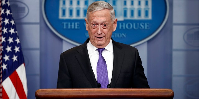 Secretary of Defense James Mattis was named in the ACLU's lawsuit against the Pentagon's plan to release the American citizen in Syria.