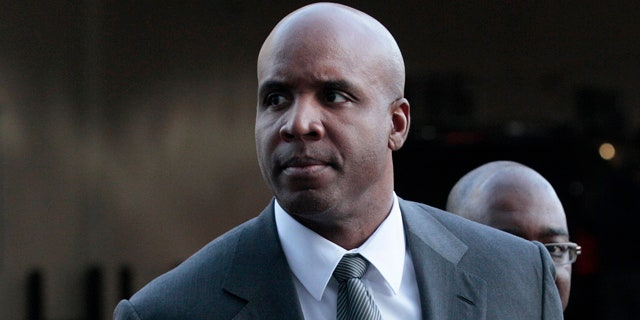 March 29, 2011: Former baseball player Barry Bonds arrives for his trial at federal court in San Francisco. (AP)