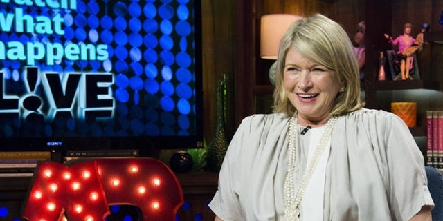 """Martha Stewart appears on """"Watch What Happens Live."""""""