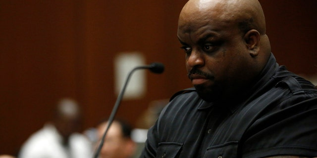 Singer CeeLo Green attends a preliminary hearing for an ecstasy possession charge at the Clara Shortridge Foltz Criminal Justice Center in Los Angeles, California February 3, 2014.