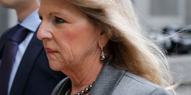 Aug. 18, 2014: Former Virginia first lady Maureen McDonnell  arrives at federal court in Richmond, Va.