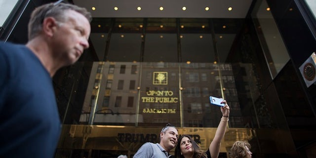 President Donald Trump planned to return to Trump Tower in New York City on Sunday, Aug. 13, 2017.