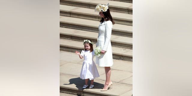 Kate Middleton's dress came under fire by social media users who thought it was white.