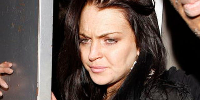 May 5: Lindsay Lohan parties with her mom Dina at Las Palmas club for Cinco de Mayo.