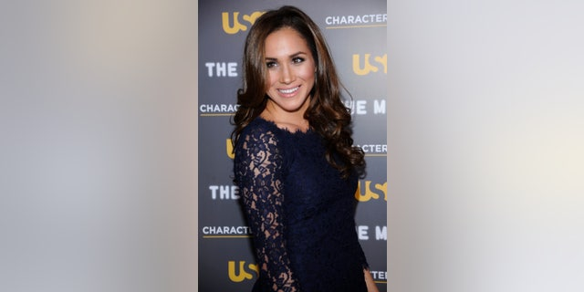 Actress Meghan Markle attends the USA Network and The Moth's Characters Unite Event at the Pacific Design Center in West Hollywood, California February 15, 2012. REUTERS/Phil McCarten (UNITED STATES - Tags: ENTERTAINMENT) - RTR2XXJ7