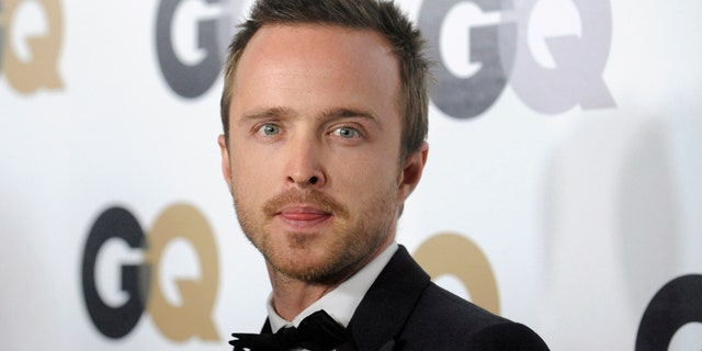 "Actor Aaron Paul attends the GQ ""Men of the Year"" party in Los Angeles November 17, 2011. REUTERS/Phil McCarten (UNITED STATES - Tags: ENTERTAINMENT HEADSHOT PROFILE) - RTR2U5WI"