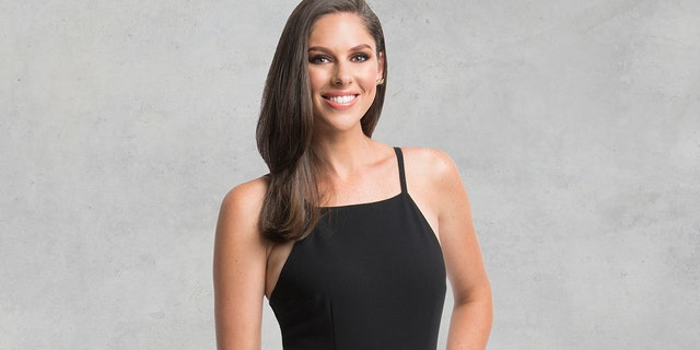 """This image released by ABC shows Abby Huntsman, newly-named co-host of the daytime talk show """"The View."""" The talk show launches its 22nd season next Tuesday, Sept. 4."""